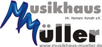 Das Logo des Musikauses Müller
